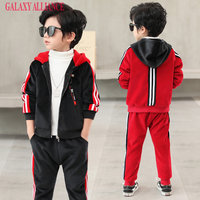 Aoutique Boys Two Piece Set Spring And Autumn Baby Boy Jacket Pants Children Fashion Clothes Sets