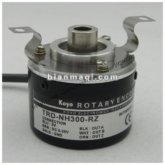 KOYO Koyo TRD-NH300-RZ semi-eje hueco rotary encoder cable diámetro exterior de 8mm 300 50mm