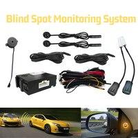 Car BSM Blind Spot Monitoring System Radar Detection System Ultrasonic Sensor Assistant Vehicle Assistance Device
