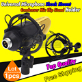 Black Studio Recording Microphone Shock Mount Condenser Microphone Stand Shockmount Mic Holder Clip Clamp Mike Suspension Spider