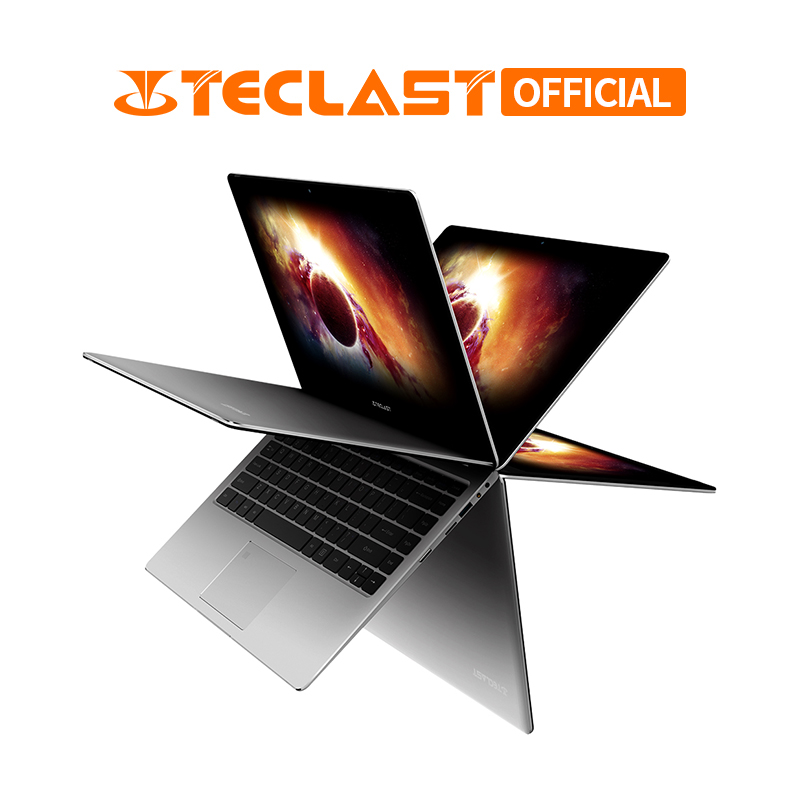 Teclast F6 Pro 360 градусов ноутбук с системой Windows 10 OS 13,3 дюймов 1920x1080 8 Гб ram 128 Гб SSD Intel Core m3 7Y30 двухъядерный ноутбук