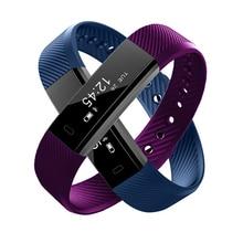 ID115 Pulseiras Inteligentes Bluetooth телефон напомнить с спортивные Фитнес трекер активности Monitores будильник вибрации для IOS Android