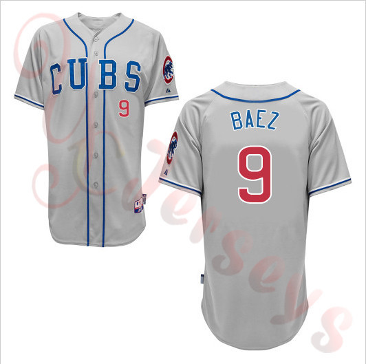 447056f16dc 2015 New Arrival 9 Javier Baez jersey Chicago Cubs Baseball Jerseys strip  blue cheap Authentic sport best buy direct china-in Baseball Jerseys from  Sports ...