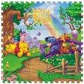 Hot Sale 9 pcs / set Winnie Crawling Rug Baby Mat Cartoon Floor Mat Baby's Climb Blanket Eva Foam Puzzle Mat Game Carpet