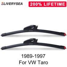SLIVERYSEA Replace Wiper Blade for Taro 1989-1997 Silicone Rubber Windshield Windscreen Auto Car Accessories