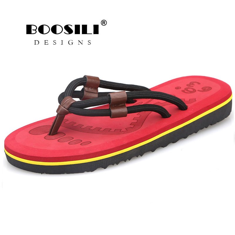 19c21f241d091 Zapatillas Hombre Chinelo Masculino Boosili 2019 New High Quality Breath Flip  Flops Men Outdoor Bath Slippers