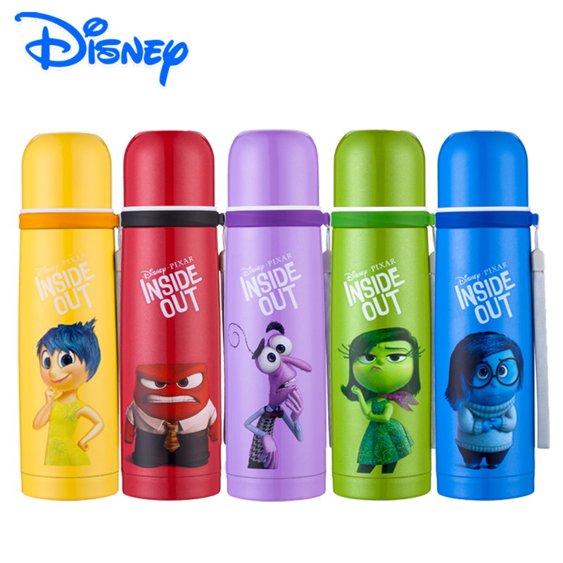 Limited Inside Out Disney 500ml Thermos 304 Stainless Steel Vacuum Insulated 12 24 Hours Vacuum Flask