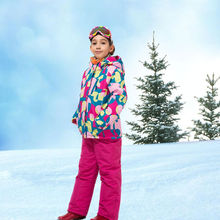 Kakilg -30 Degree Girls or Boy Waterproof Ski Suit Children Jacket and Pants Warmth Thickened Winter Clothes KL7080