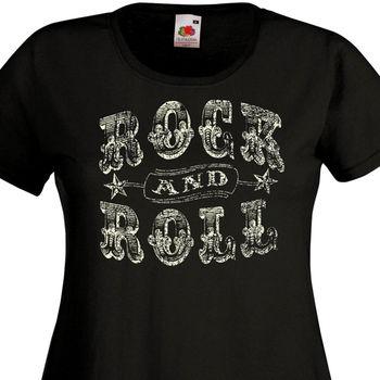 Женская футболка в стиле рок-н-ролл RocknRoll, ретро-футболка в стиле «Тедди», лето 2019