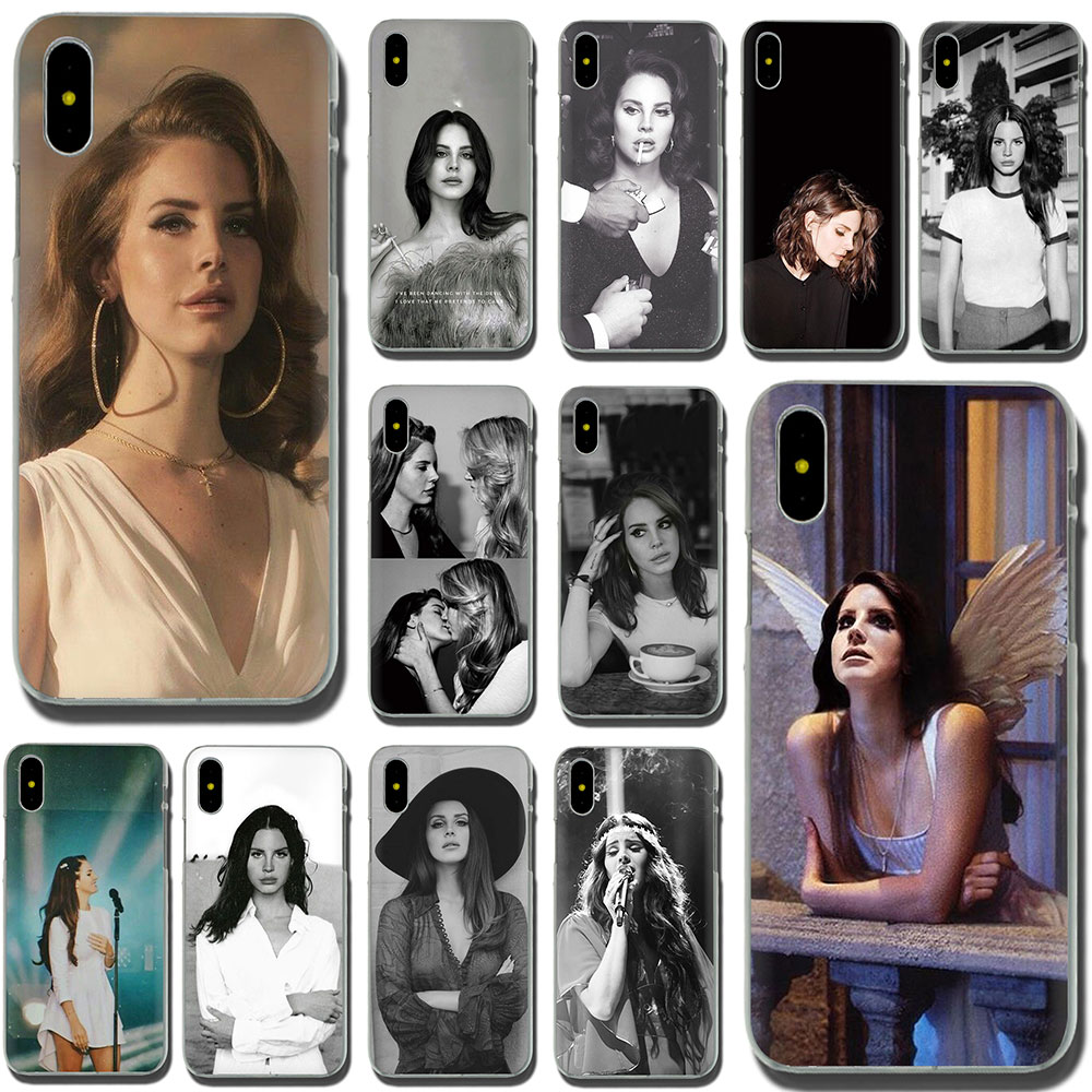 Lana Del Rey funda de teléfono dura caso para iPhone 11 Pro 6 6S Plus 7 8 Plus X XS X XR XS.