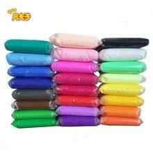 24 colors *13g/set Fimo Colored Clay Polymer Plasticine Modelling Air Dry Playdough Light DIY Soft Creative Handgum Toys Cl