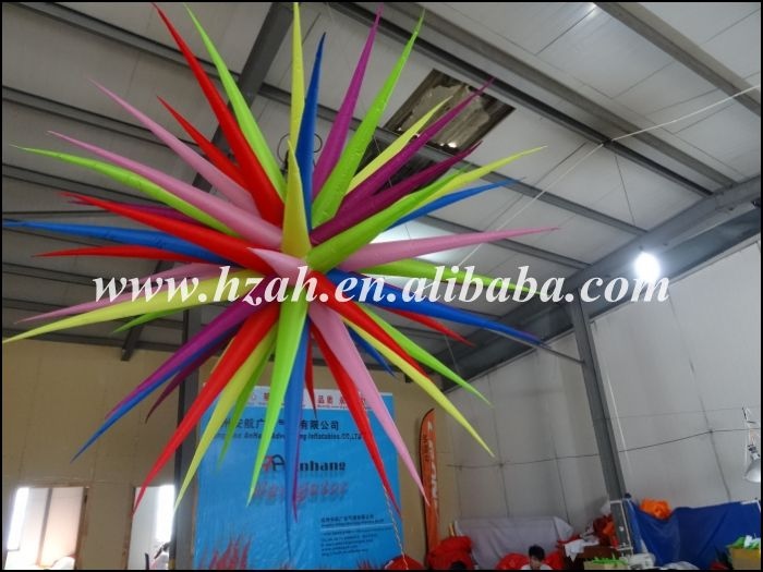 Party Decoration Inflatable Star/3D Inflatable Star Ceiling Hanging Decorations inflatable party sun decoration inflatable light star