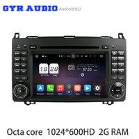 Octa Core Android 6 0 Car Dvd Gps For Mercedes Benz Viano Vito A B Class