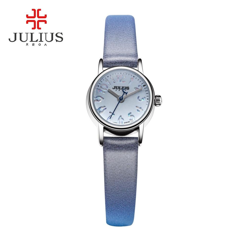 Julius Korea Designer Quartz Watch Women Bracelet Rose