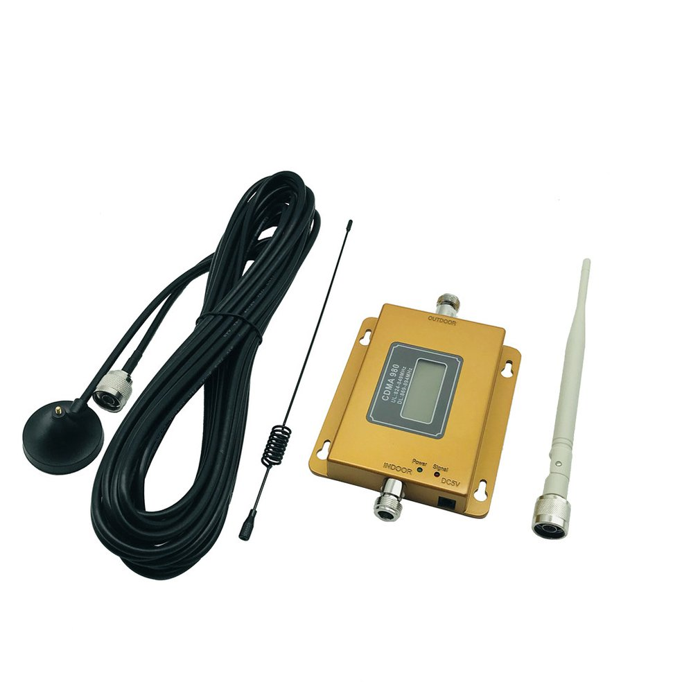 Pequeña pantalla CDMA de 850 MHz teléfono móvil teléfono señal mejora amplificador