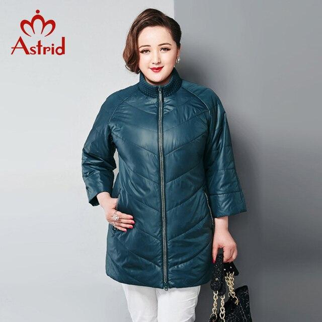 Астрид новая куртка женская осень теплый женщиный зимний плащ модное пальто мода тонкие ватные высокое качество парка женская AM-2520