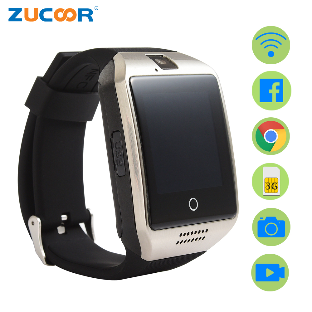 ФОТО Smart Watch Android GPS WiFi Wristwatch ZW95 Support SIM Card Reloj Inteligente Camera Video Audio Music Waterproof Smartwatch