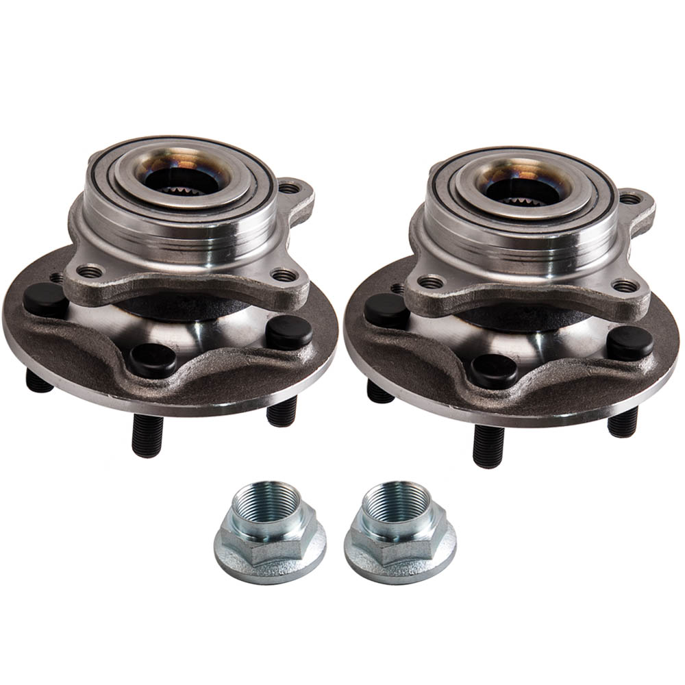2x For LAND ROVER DISCOVERY 3 FRONT WHEEL BEARING HUB ASSEMBLY & BOLTS LR014147RFM500010   - title=
