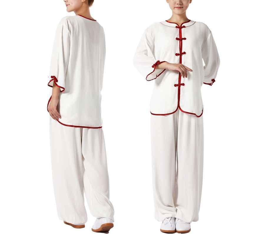 女性の夏の半袖太極拳太極拳スーツカンフー制服武道トレーニング服の衣装高品質