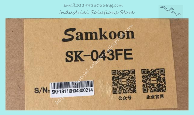 4.3 inch HMI SK-043FE replace SK-043AE 480*272 with Ethernet 1 COM boxed new SK043FE samkoon touch screen hmi sk 043fe replace sk 043ae 480 272 4 3 inch ethernet 1 com new original