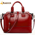 Ruocco Brand Luxury Women Leather Handbags Elegant Leather Shoulder Bag Female Women Messenger Bags 2016 Tote Bags