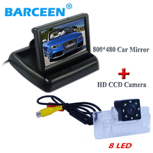 Suitable for  Nissan Almera /TEANA / Sylphy Altima 4.3″ lcd car monitor  with waterproof car parking camera shoakproog 8 led