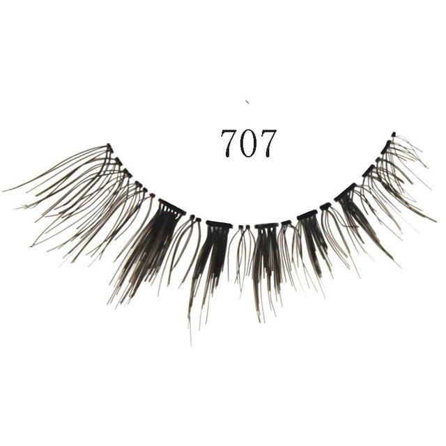 Free shipping,32box/lot ,high quality,(10pairs/box)Beautiful False Eyelash (707)