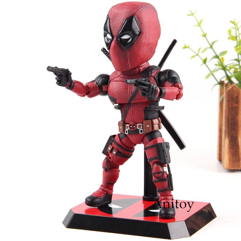 Marvel Legends Deadpool Figurine PVC Mutation Arts Anime Figurines Collection Modèle Jouets pour Garçons Cadeaux 17.5 cm