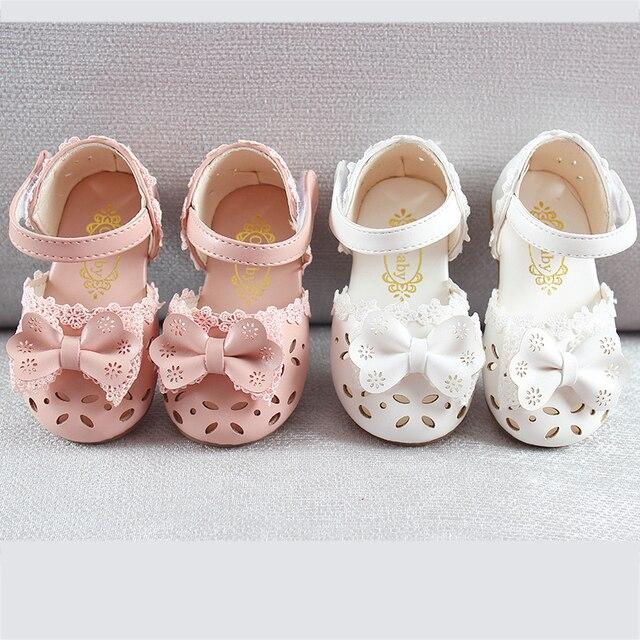 Pink Toddler Girl Sandals 5