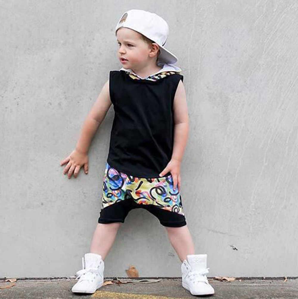 CHAMSGEND 2019 מגניב בני קיץ תינוקות תינוק בני בגדי סט ברדס צמרות חולצה + מכנסיים סט תלבושות דצמבר 27