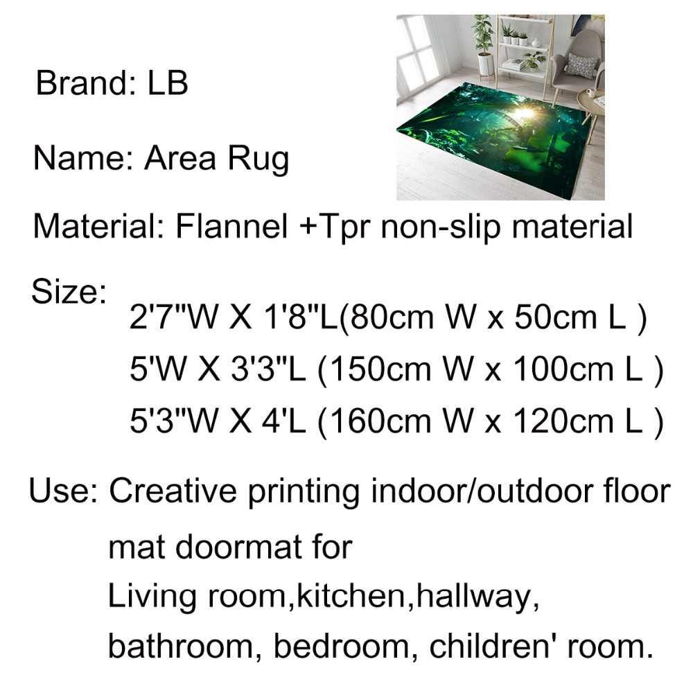 ฮาโลวีนฟักทองพิมพ์ชั้นพรมพื้นที่ห้องนอนพรมห้องนั่งเล่นพรมพรมลื่นเสื่อเด็ก Crawling พรม bath Mat