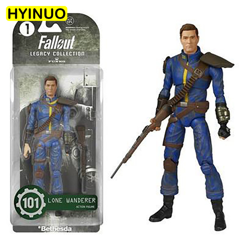 2 Models Youth FALLOUT 4 PVC Material Radiation Kid Power Armor Hand Toy Decoration Action Figure Dolls Toys GiftsDisplays image
