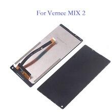 100% 元の新しい液晶ディスプレイ vernee ミックス 2 液晶 + タッチスクリーンデジタイザコンポーネントの交換 vernee ミックス 2 lcd ディスプレイコンポーネント