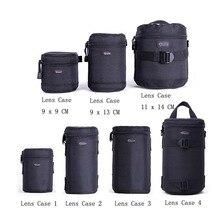 Snelle Verzending Nieuwe Lowepro Lens Case Bag Waterdichte Foto Zakje Voor Standaard Zoom Lens Zwart