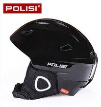 POLISI Winter Ultralight Ski Helmet Men Snow Skateboard Extreme Sport Saftly Helmet Snowboard Skiing Equipment Capacete