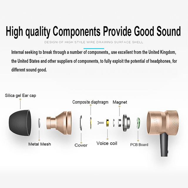 Sound Intone H6 Bluetooth Earphones Wireless Earbuds With Microphone Gym Headphones For iPhone Huawei, Xiaomi, Sony 5
