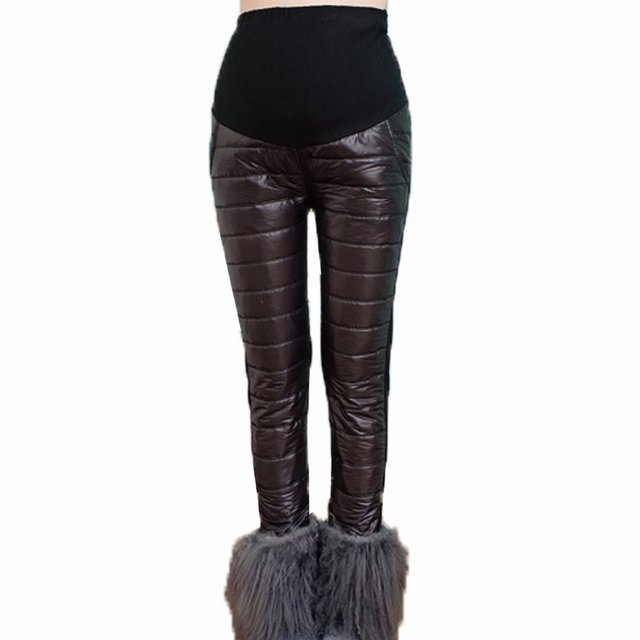 Удобные для беременных брюки зима тёплый одежда для беременных женщины для беременных одежда беременность брюки брюки