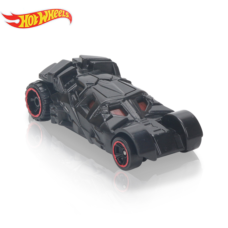 Box Hotwheels Fast And Furious Diecast Cars 1:64 Electroplated Metal Batman The Dark Night BATMOBILE Model Pocket Car Toys