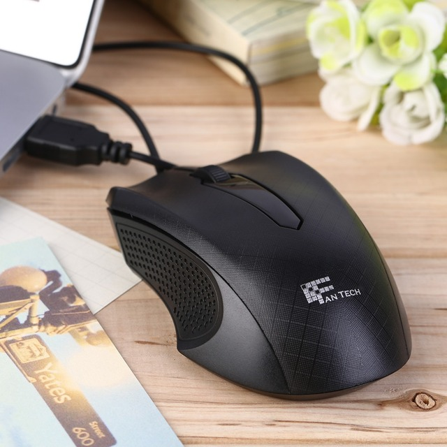 1203f91d3e1 New Design 3D Scroll Wheel 1000 DPI USB Wired Optical Gaming Mice Mouse For  Desktop PC Laptop Wholesale Drop Shipping