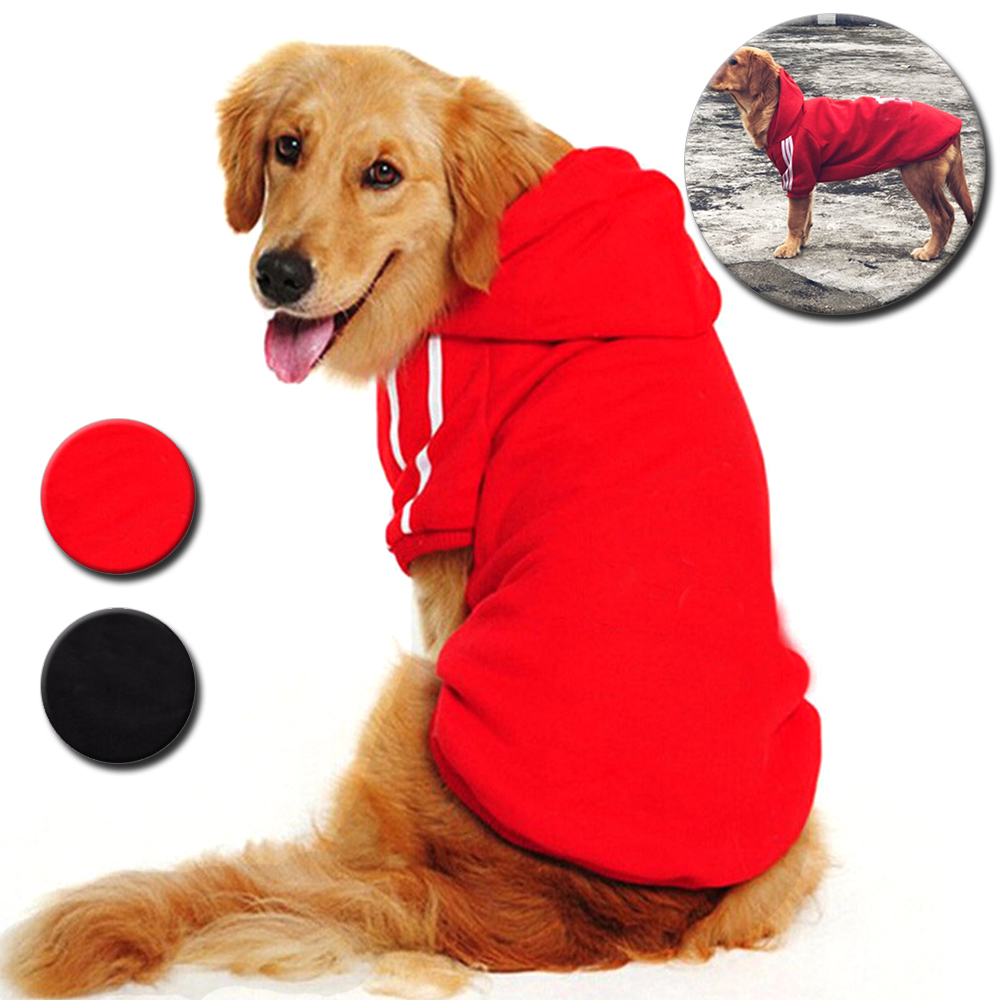 Pet Dog Clothes Hoodies Coat Winter Warm Puppy Large Dogs Clothes for Small Large Dog Sweatshirt Shepherd Border Collie CL0001 image