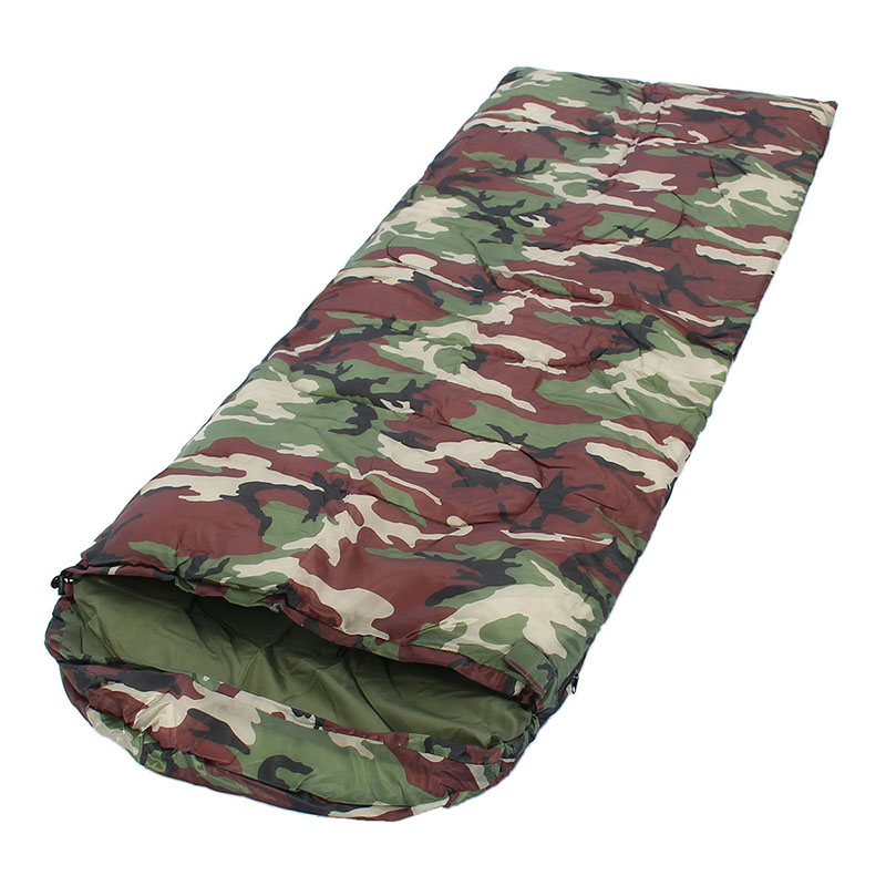 Best Deal Camping ACU Camouflage Sleeping Bag Outdoor Sleeping Bags Camping Camouflage Envelope Bag