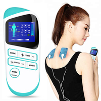 Mini Digital Therapy Machine Massager Body Health Care Tens Acupuncture Meridian Massager Body Slimming Muscle Relax Fat Burner
