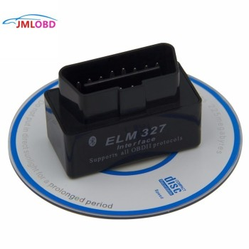 Car OBD mini ELM327 Bluetooth OBD2 V2.1 Auto Scanner OBDII 2 Car ELM 327 Tester Diagnostic Tool for Android Windows Symbian image