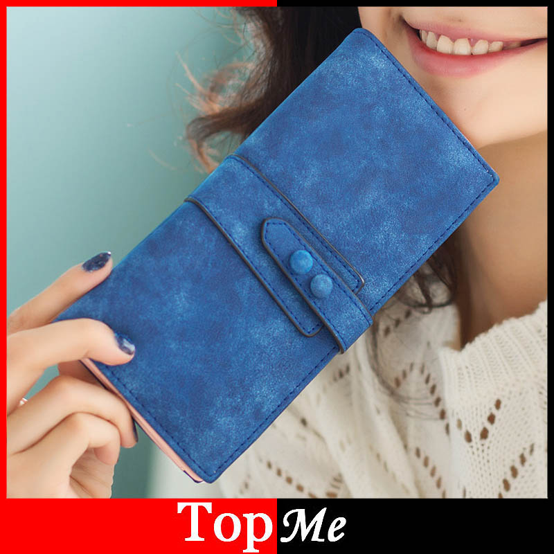 Fashion Lady Purses Women Wallets Cards ID Holder Matte PU Leather Lady Handbags Moneybsgs Hasp Clutch Female Wallets Burs Bags never leather badge holder business card holder neck lanyards for id cards waterproof antimagnetic card sets school supplies