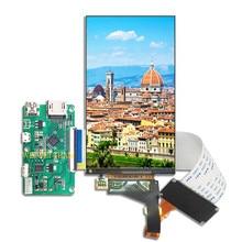 5.5 Inci 2 K IPS Panel 2560*1440 dengan Ukuran Kecil HDMI untuk MIPI Driver BOARD UNTUK wanhao D7 LCD Lampu Latar Layar Yang Dapat Dilepas