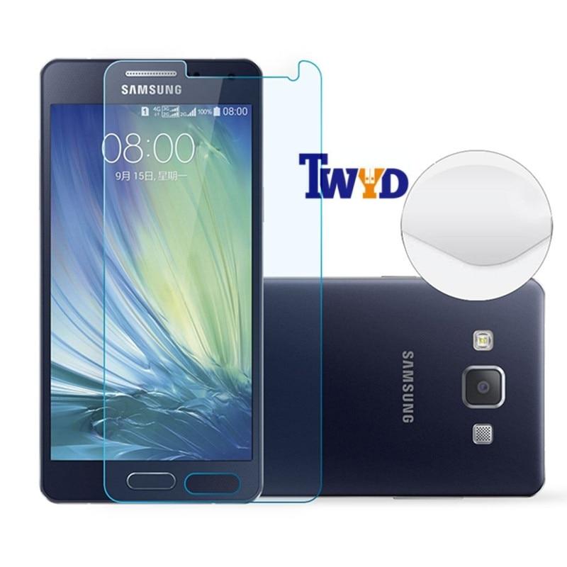 Screen Protector Film Přední tvrzené sklo pro Samsung Galaxy S7 A9 - Příslušenství a náhradní díly pro mobilní telefony