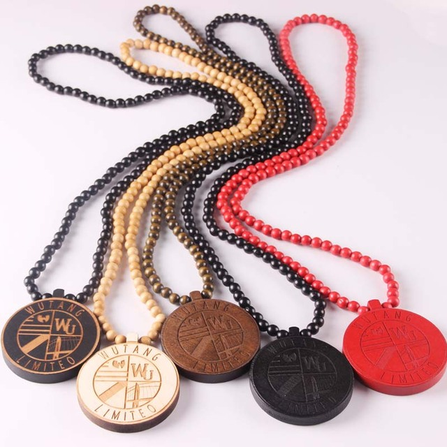 wooden pendant item necklaces handle fashion gift machine jewelry hop goodwood beads necklace game wood hip good