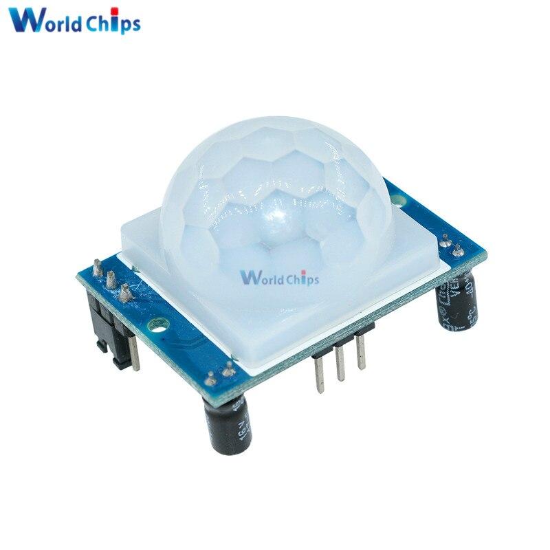 SR501 Motion Sensor Detektor Modul HC-SR501 Einstellen IR Pyroelektrische Infrarot PIR Modul AM312 Sensor Modul für arduino Diy Kit