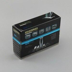Image 5 - Tondeuse à cheveux professionnelle 3 en 1, rasoir électrique pour barbe, pour barbier, bords, coupe de cheveux, pour hommes