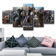 World of Battle for Azeroth Video Game Poster And Print Modern Decorative HD Pictures Canvas Paintings Home Decor